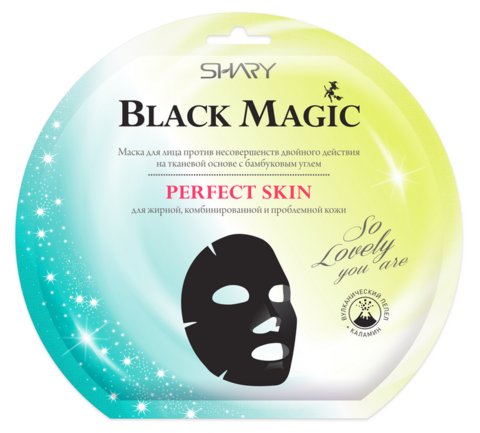 Shary Black magiс Маска для лица против несовершенств