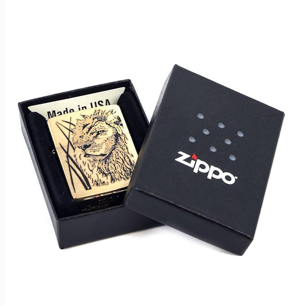 Зажигалка Zippo №204B Proud Lion