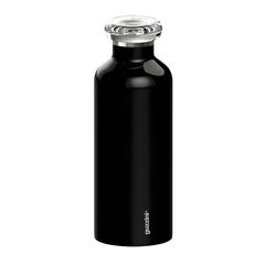 Термобутылка 500мл On the go черная Guzzini