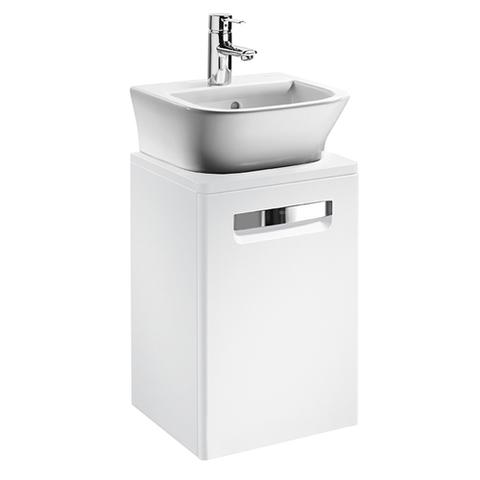 Мебель для ванной Roca The Gap 44x39см. белая ZRU9302735/327477000