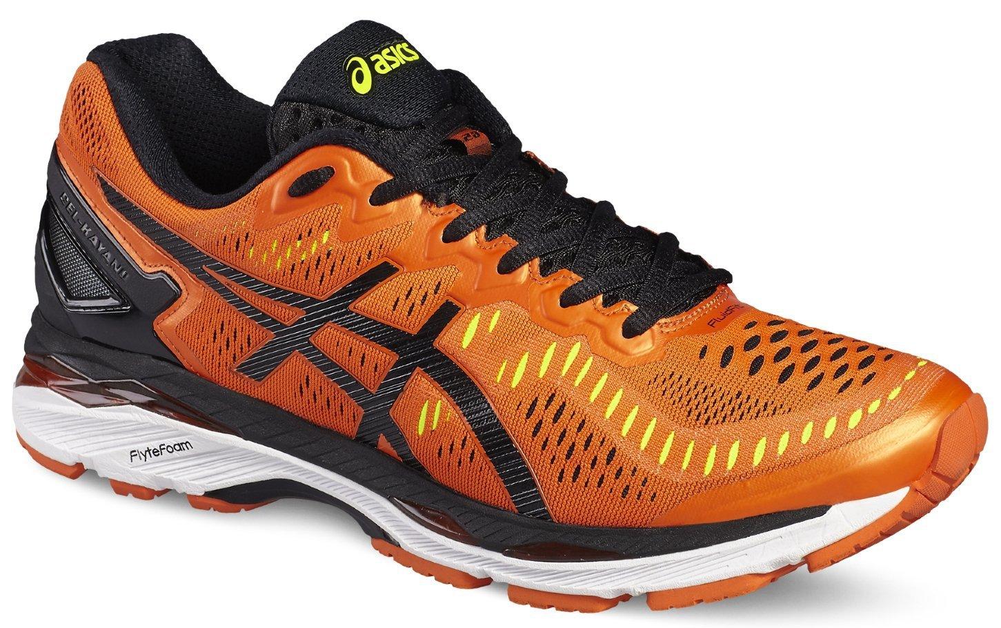 беговые кроссовки для мужчин Asics Gel-Kayano 23 (T646N 0990) оранжевые