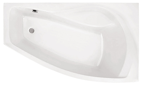 Ванна акриловая асимметричная
