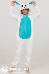 """Детская пижама-кигуруми """"Заяц голубой"""""""