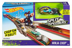 Split Speeders Ninja Chop Track Set