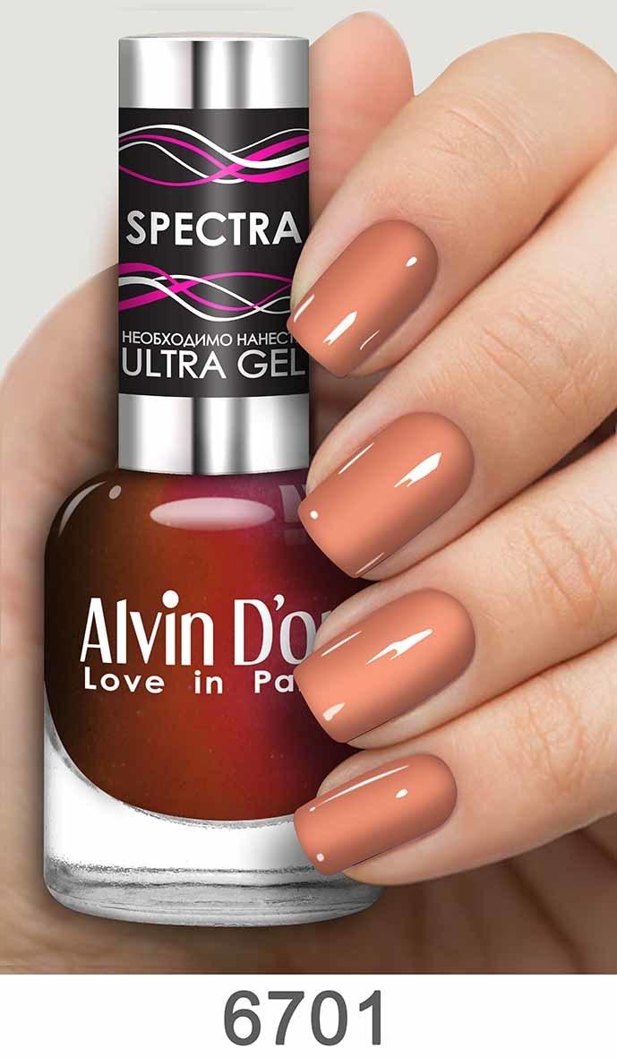 Alvin D`or Лак д/ногтей SPECTRA тон 6701