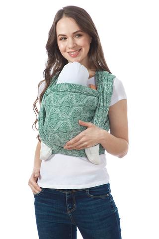 Слинг-шарф 11602 зеленый