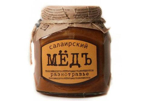 Салаирский мёд, 460г