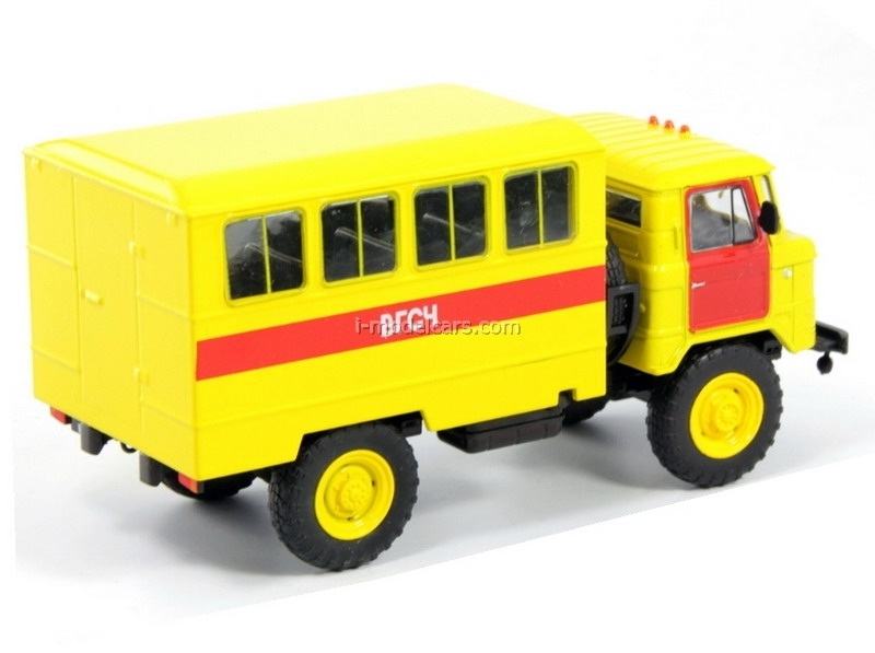 GAZ-66 Mine Rescue Russia 1:43 DeAgostini Service Vehicle #79