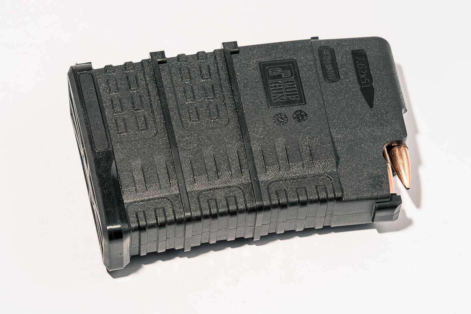 Магазин Pufgun Сайга-308 на 15 патронов, черный
