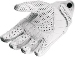 Мотоперчатки - ICON PURSUIT (женские, перфорированные, белые)