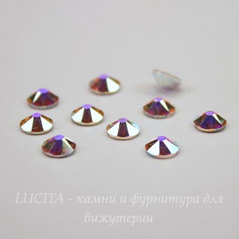 2088 Стразы Сваровски холодной фиксации Crystal AB ss 20 (4,6-4,8 мм), 10 штук