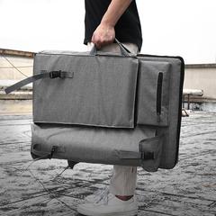 Сумка-рюкзак трансформер BOGELINUO для художественных принадлежностей