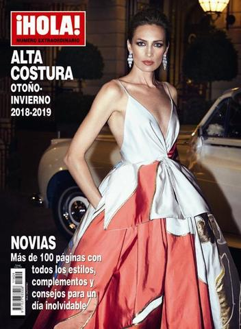Журнал мод. ¡HOLA! ALTA COSTURA осень-зима 2018-2019 г.