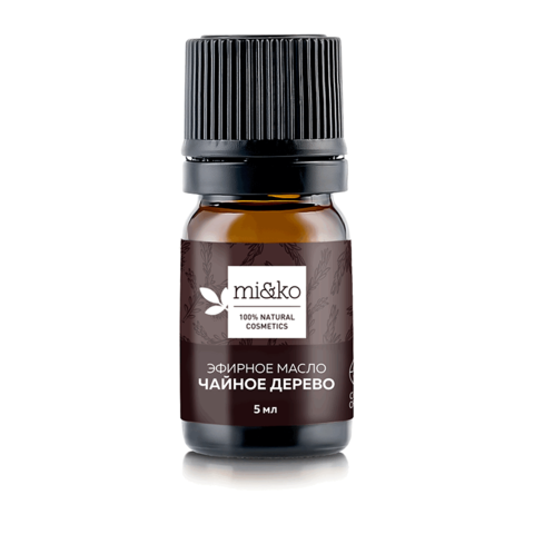 Эфирное масло Чайное дерево 5 мл, органик