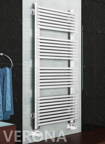Verona White -  белый дизайн полотенцесушитель