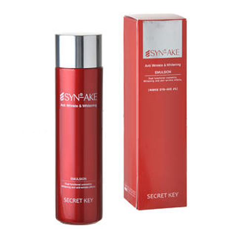 SECRET KEY SYN-AKE Эмульсия с пептидом змеин. яда SYN-AKE Anti Wrinkle & Whitening Emulsion
