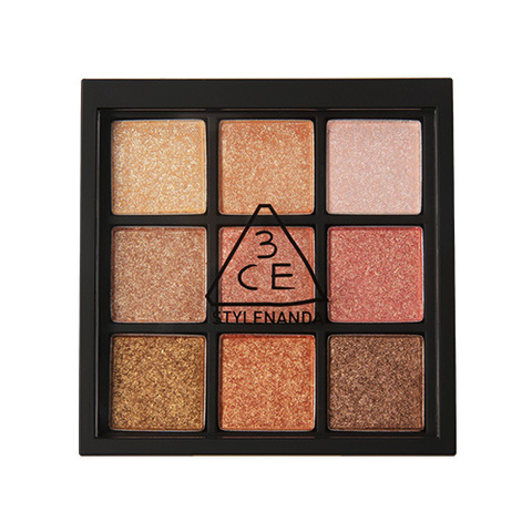 Палетка теней 3CE Multi Eye Color Palette #All Nighter 8.1g