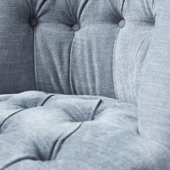 Пуф Eichholtz Камден светло-серый