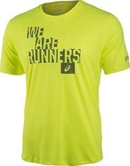 Мужская футболка Asics Graphic Top (121652 0291) lime
