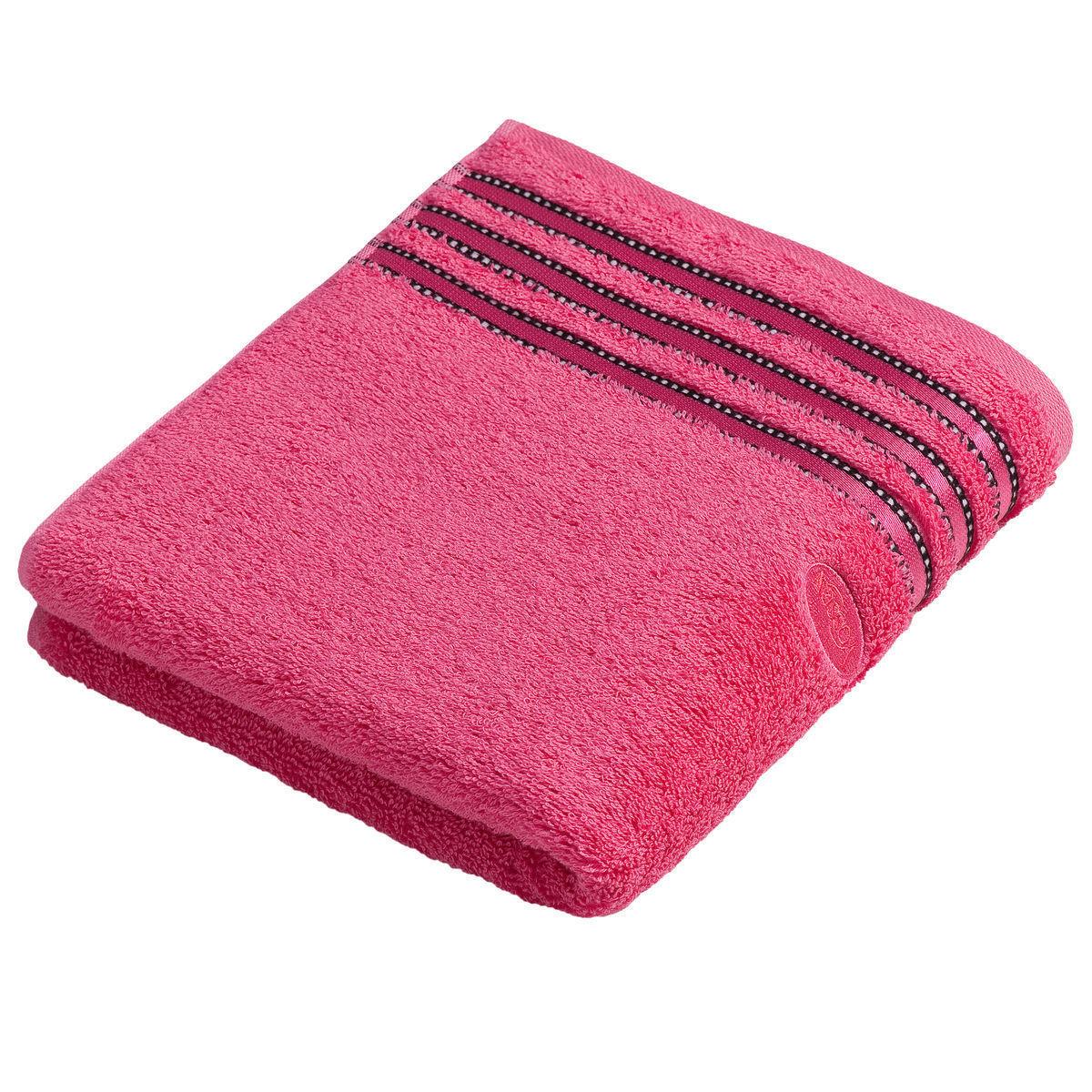 Полотенца Полотенце 30x50 Vossen Cult de Luxe rosy pink elitnoe-polotentse-cult-de-luxe-rosy-pink-ot-vossen-avstriya-50x100-1.jpg