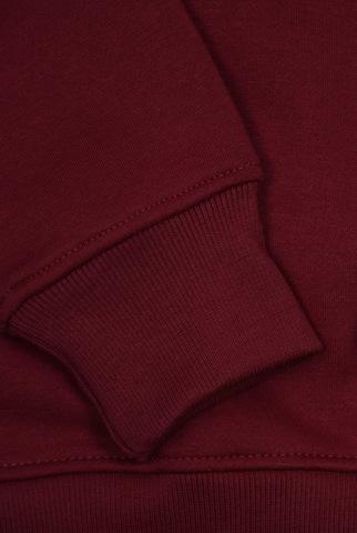 Свитшот бордовый фото 3