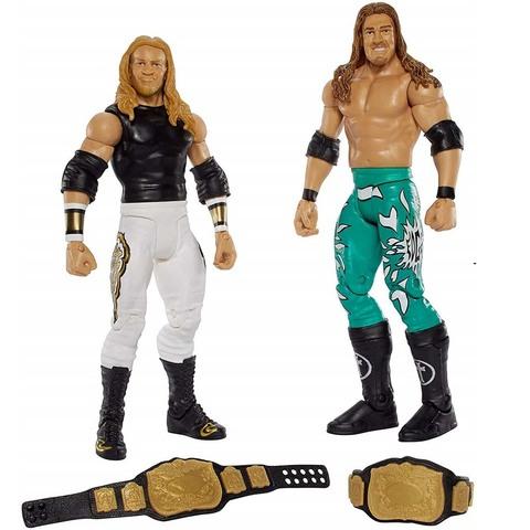 Набор фигурок рестлеров: Эджи и Кристиан. Бойцы WWE