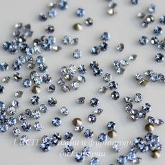1028 Стразы Сваровски Light Sapphire PP 6 (1,3-1,35 мм), 20 штук