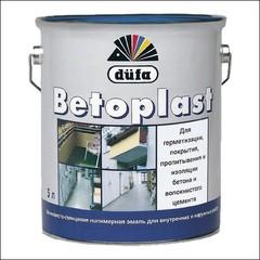 Эмаль для бетонных оснований Dufa BETOPLAST (оксидно-красная)