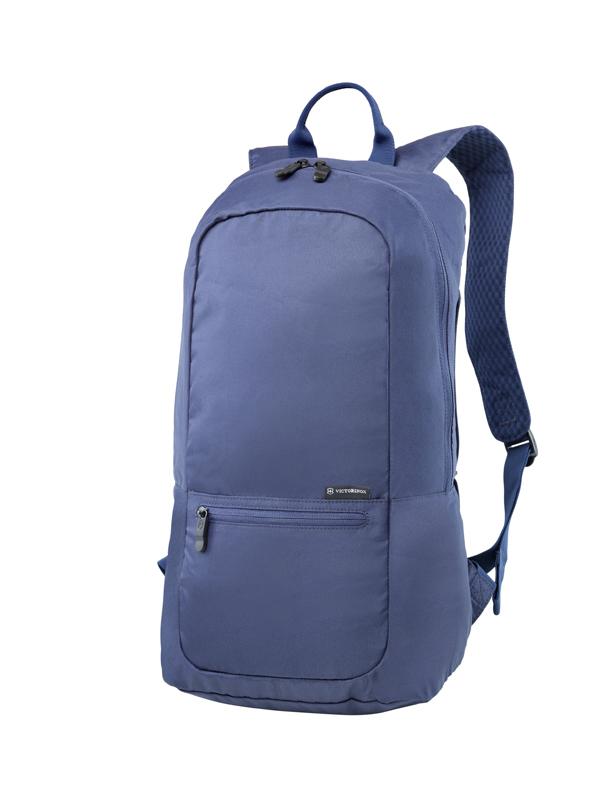 Складной рюкзак Victorinox Packable Backpack, синий, 25x14x46 см, 16 л