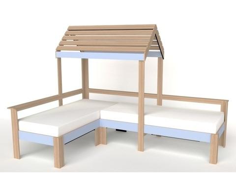 Кровать-домик АВАРА-3