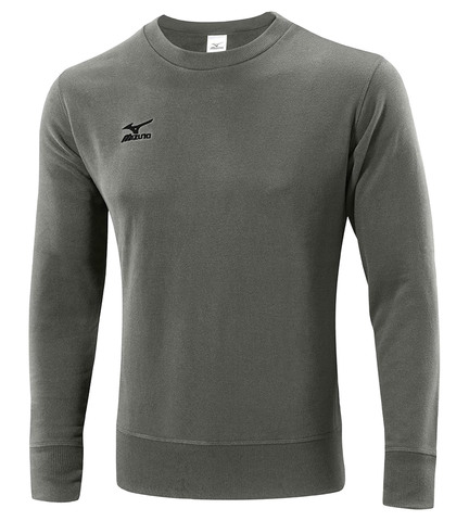 Толстовка Mizuno Sweat мужская серая