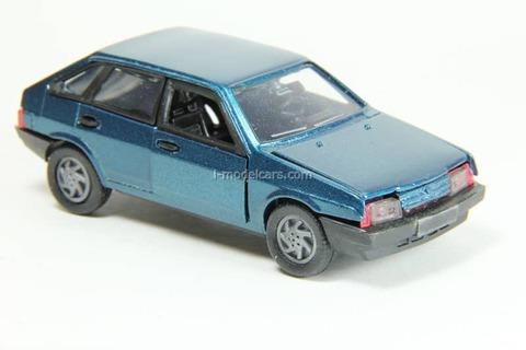 VAZ-2109 Lada Samara hatchback 5-doors (blue) Agat Mossar Tantal 1:43