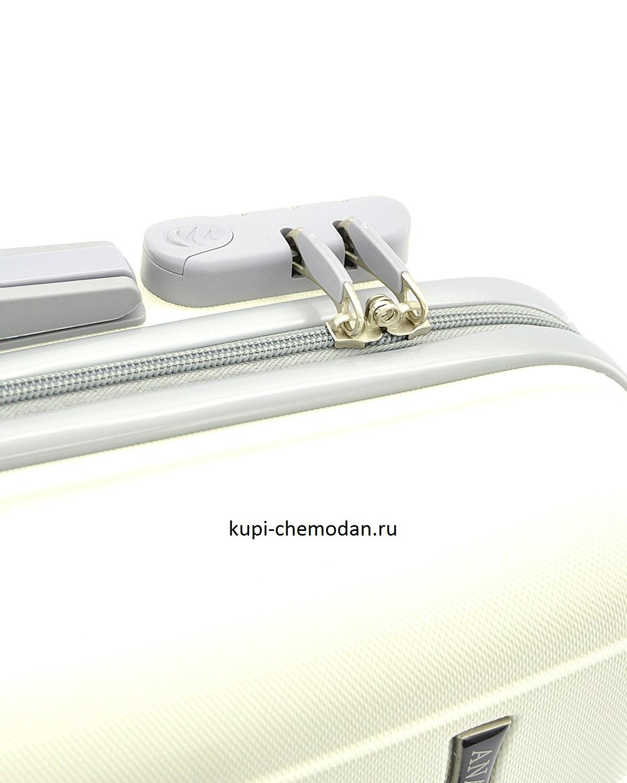 Чемодан Ananda 533 Белый L