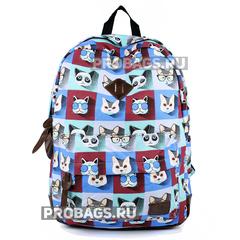 Рюкзак PYATO Хипстер-кот