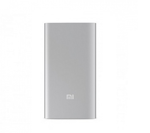 Аккумулятор Xiaomi Mi Power Bank 5000 mAh (Серебристый)