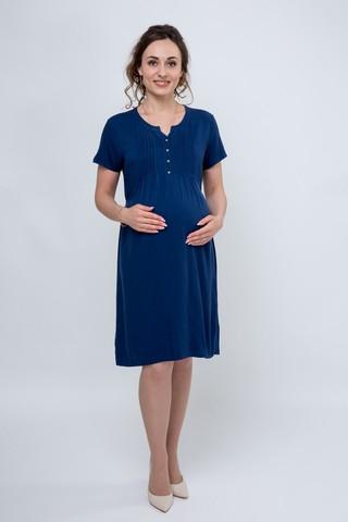 Платье 07589 светло-синий