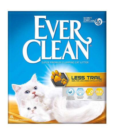 Ever Clean Less Trials комкующийся наполнитель для длинношерстных кошек (6 л)