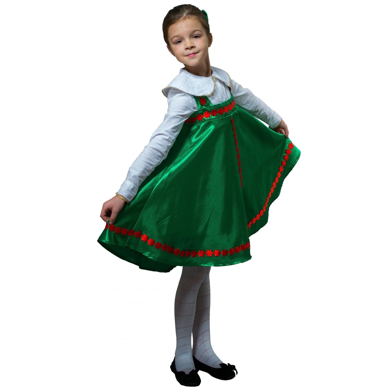 Плясовой костюм Травушка