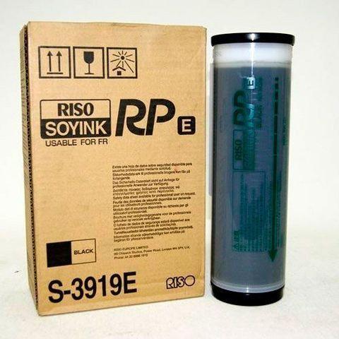 Краска для ризографа RISO FR/RP, черная (S-3919e), 1000 мл