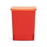 Встраиваемый мусорный бак (10 л), Красный, арт. 482267 - превью 1