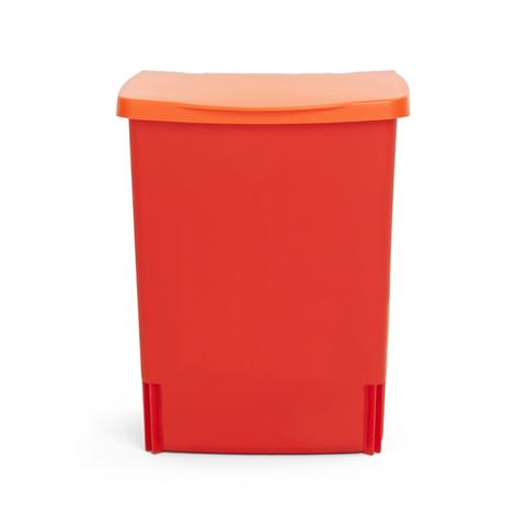 Встраиваемый мусорный бак (10 л), Красный, арт. 482267 - фото 1