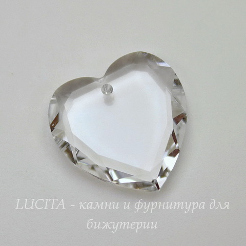 6225 Подвеска Сваровски Сердце Crystal (18 мм)
