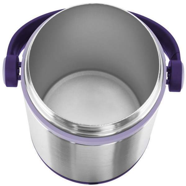 Термос для еды Emsa Mobility (1,2 литра) фиолетовый/стальной