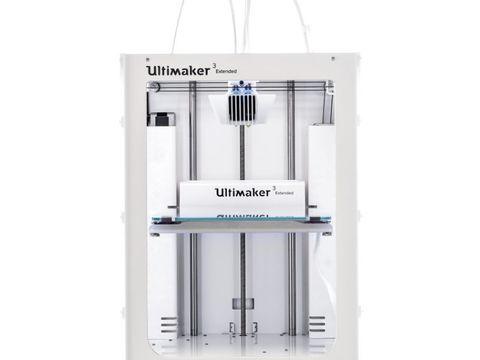 Ultimaker 3 Extended - новый 2-х экструдерный 3D-принтер.
