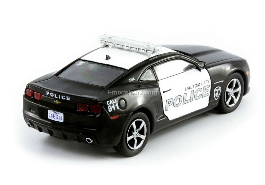 Chevrolet Camaro SS Police Texas USA 1:43 DeAgostini World's Police Car #30