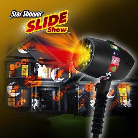 Лазерный проектор Slide Star Shower 12 слайдов