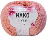 Пряжа Nako Fiore коралл 11526
