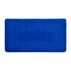 Коврик для ванной BANYOLIN 60х100 см ворс, синий