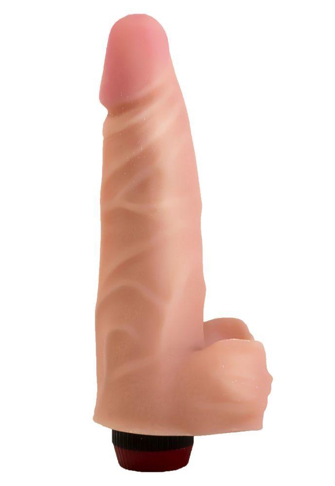 Реалистики: Реалистичный виброфаллос из неоскин - 18,5 см.