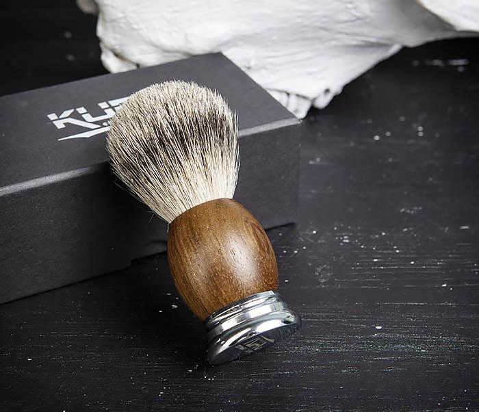 RAZ429-3 Помазок из барсука в подарочной коробочке фото 04